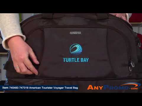 Promo Product Review: American Tourister Voyager Travel Bag| AnyPromo 745483 747319