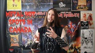 Metal Hot Spots In Canada