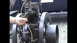 Wisconsin hit and miss engine running at 80 rpm