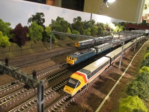 HATCH END MODEL RAILWAY n-gauge layout  build video