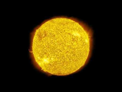 Space Sounds: One Hour of Our Suns Solar Om Noise