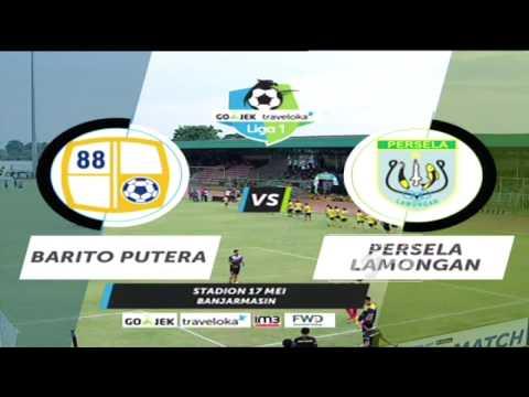 Barito Putera vs Persela Lamongan: 4-1 All Goals & Highlights - Liga 1