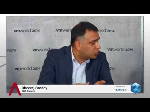 Dheeraj Pandey, Nutanix - #VMworld 2014 #theCUBE