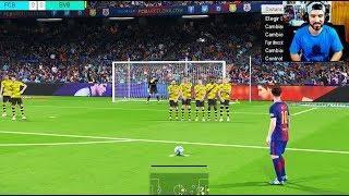 (23.56 MB) PES 2018 DEMO PS4 GAMEPLAY - BARCELONA VS BORUSSIA DORTMUND Mp3
