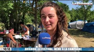 Avignon : le Festival même à la campagne