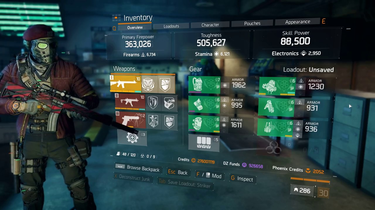 The Division   Solo Build