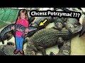 Prawdziwy Krokodyl !!! - Trzymamy go na Rękach ... (Vlog #247)