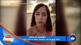 Cecilia Suárez rompe las redes sociales con su personaje: