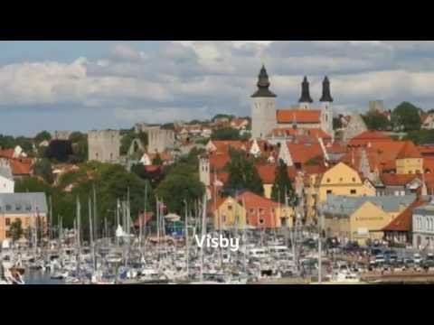 The 10 Most Beautiful Towns in Sweden [HD]