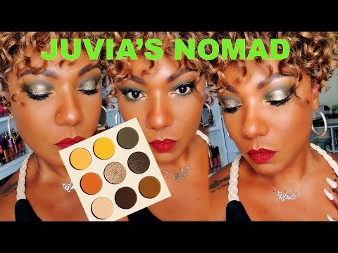 **NEW**JUVIA'S NOMAD Palette - Eye Look, Swatches  & First Impression thumbnail