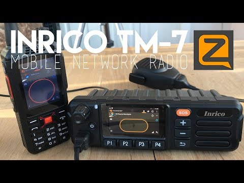 Inrico TM-7 Network Mobile Radio - Part 1 - Overview & Setup