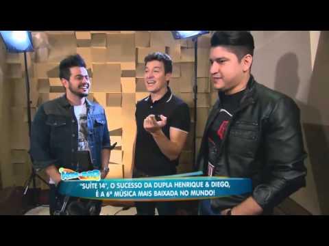 Faro Visita A Dupla Henrique & Diego