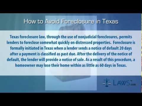 Texas Foreclosure