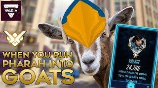 Running GOATS into my Pharah [24.7K Damage] | Overwatch Twitch Highlight | Valkia