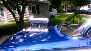 Bad ass 62_ blown chevy pro street impala.flv
