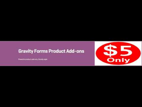WooCommerce Gravity Forms Product Add-ons 3.3.5 Extension