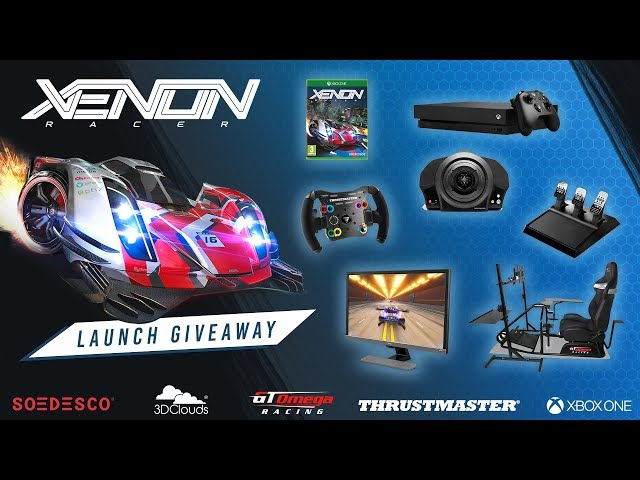 WIN a fully equipped racing cockpit - Xenon Racer Launch Giveaway