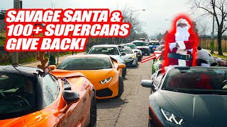 100+ SUPERCARS VISIT A CHILDREN'S HOSPITAL W/ STREET SPEED 717'S NEW LAMBORGHINI!