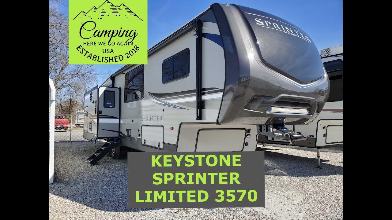 2021 Keystone Sprinter Limited 3570 5th wheel tour