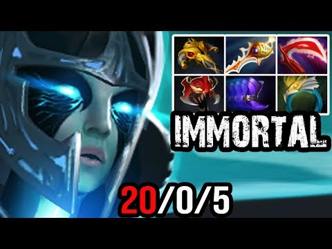 QO [Phantom Assassin] Insane Damage With Crit Just in Time=You're Dead Dota 2 | Full Game