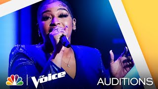 "Nadianicole Performs Brandy's ""I Wanna Be Down"" - The Voice Blind Auditions 2021"