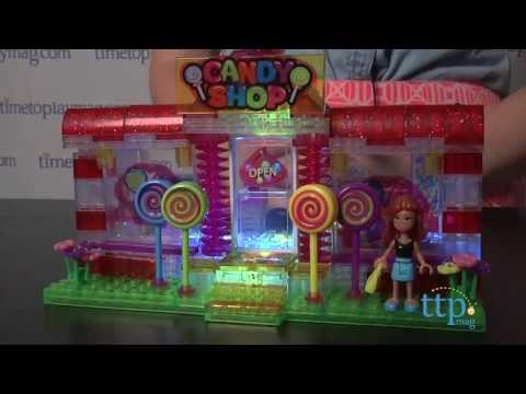 Lite Brix Lite Up Candy Shop from Cra-Z-Art - YouTube