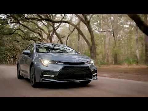 2020 Toyota Corolla XSE Driving Video
