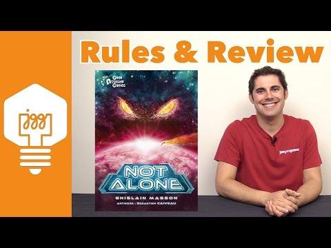 Not Alone Review - JonGetsGames