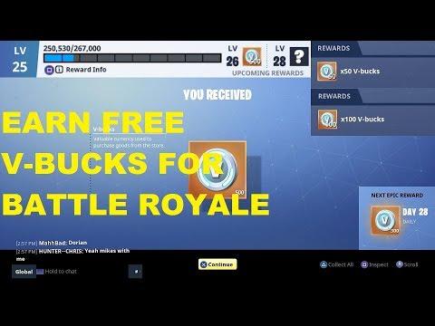 how to get v bucks easy