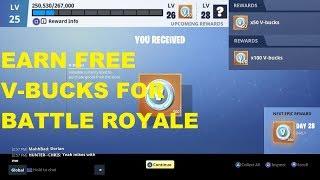 Fortnite - How To Get Free V bucks For Battle Royale