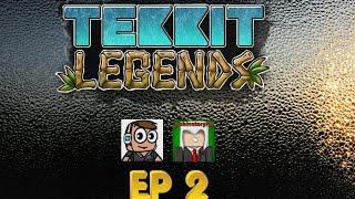 Minecraft Tekkit Legends; Ep2 - Energy Condenser