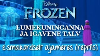 Frozen - For the First Time in Forever [Reprise] (Estonian)