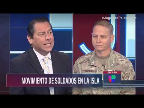 US Army Reserve Spokesperson Media Interview