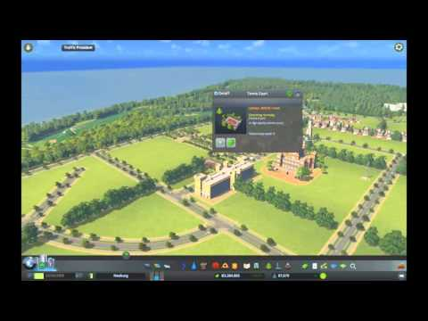 Cities Skylines part 4 - Golf course and Football academy