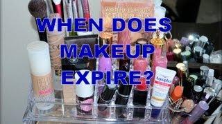 MAKEUP EXPIRATION DATES! When to toss your makeup!