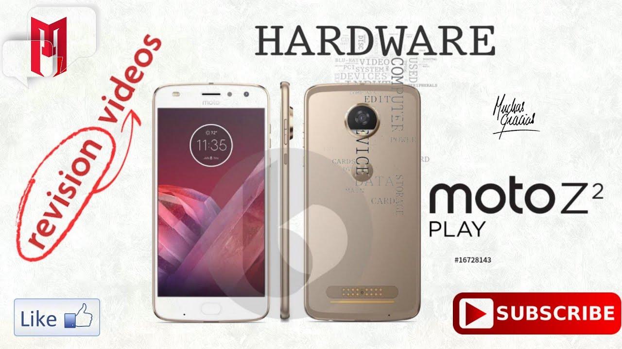 8e9d5a7587b Motorola Moto Z2 Play. Características de Diseño, Pantalla, Batería,  Rendimiento, Memoria, Sensores