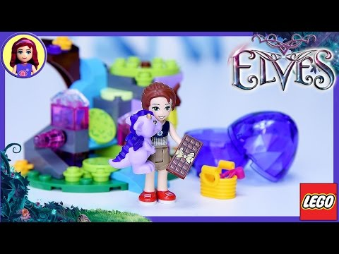 Lego Elves Emily Jones & the Baby Wind Dragon Build Review Silly Play - Kids Toys