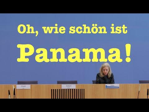 Oh, wie schön ist Panama! - Komplette Bundespressekonferenz vom 4. April 2016