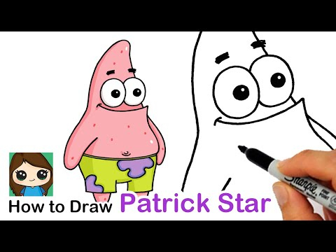 How To Draw Patrick Star | SpongeBob SquarePants