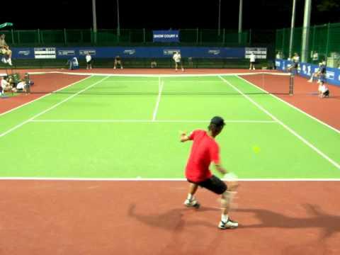 SIN CHALLENGER TENNIS 2011 S2R Go Soeda VS Ivo KLEC