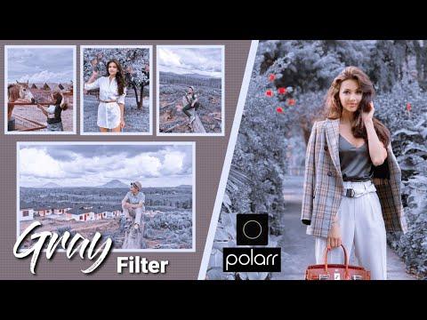 Cara Edit Foto Pakai Hp | Gray Filter | Tutorial Polarr