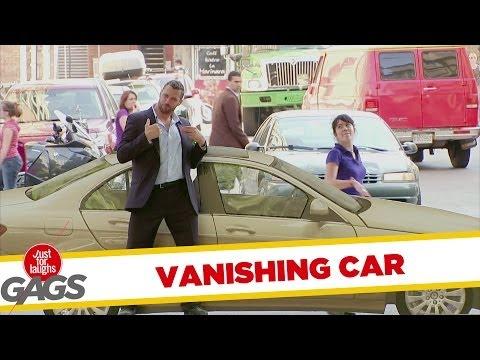 Disappearing Car Prank