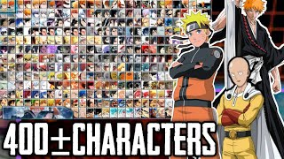 NEW Bleach Vs Naruto Mugen for Apk Android with 400+ Characters [DOWNLOAD]