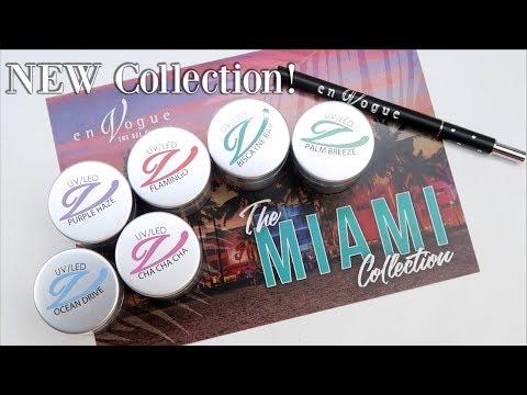 NEW EnVogue Colour Gel Collection | Miami
