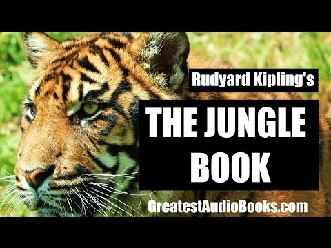 THE JUNGLE BOOK by Rudyard Kipling - FULL AudioBook | GreatestAudioBooks.com V3