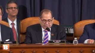 Jerry Nadler Praises Bill Clinton: 'Physically Gave His Blood' in Impeachment