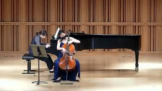 Poulenc Cello Sonata Mvmts 3+4