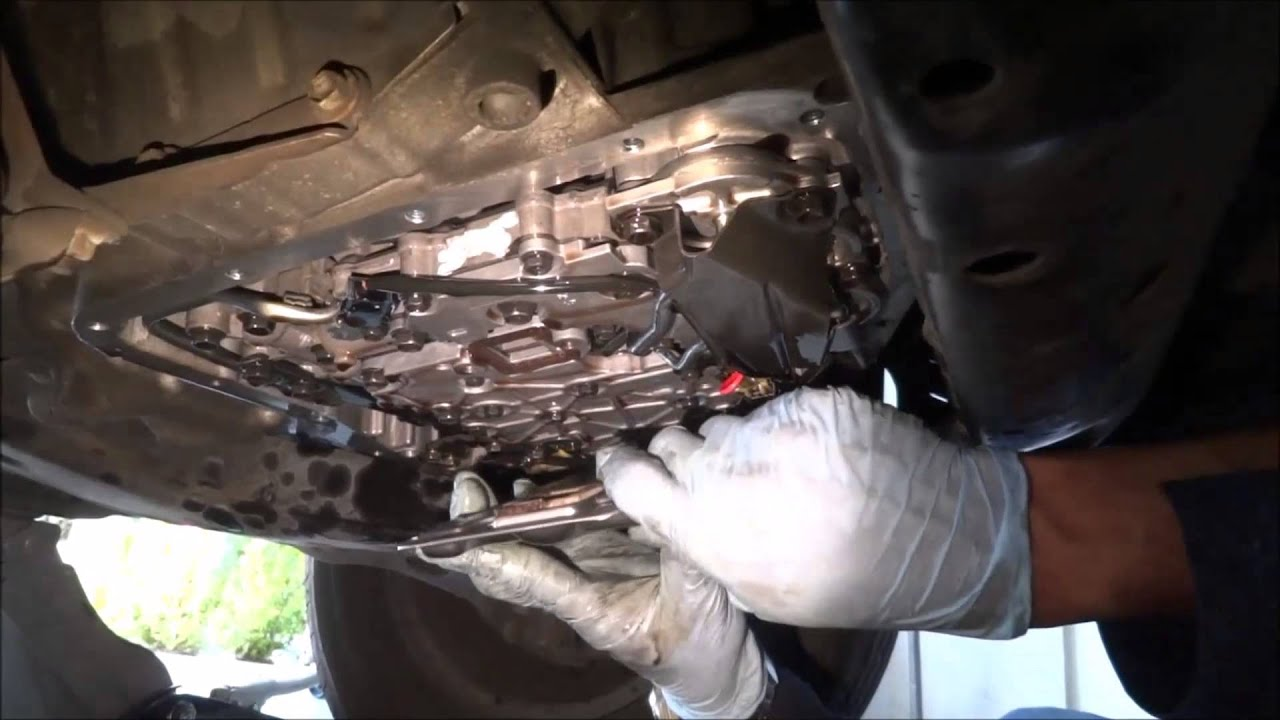 Transmission Filter Replacement And System Flush Part 1