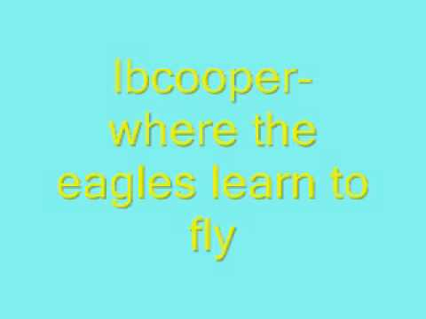 lbcooperwhere the eagle learns to fly