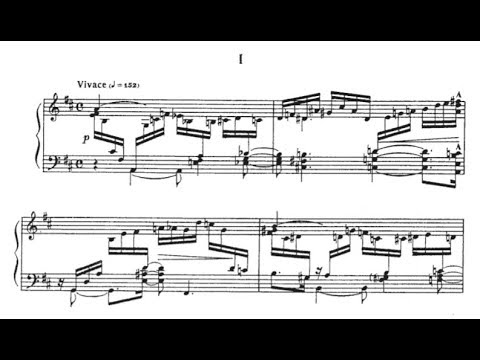 Nikolai Kapustin - Piano Sonata No. 1, Op. 39 (FAN REQUEST)